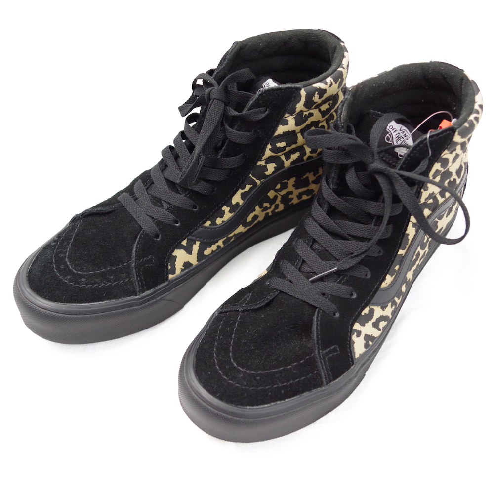 SK-8 Hi Reissue Li Animal Black【VANS】