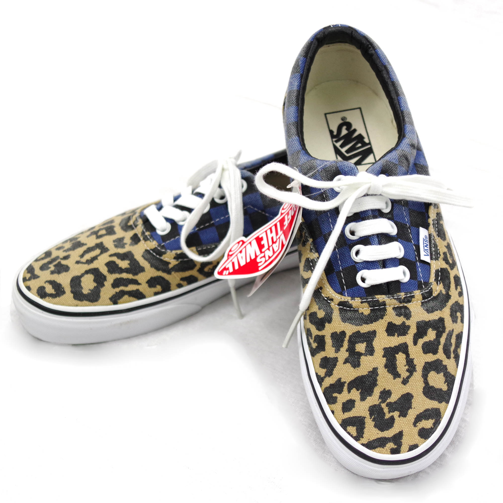 色落ちあり(20%OFF)DEADSTOCK Era Van Doren Leopard/Checker【VANS】