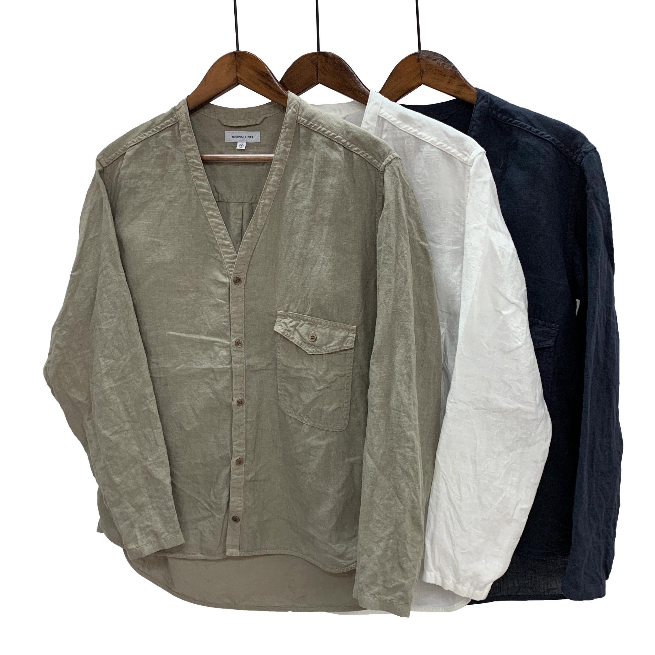 LINEN ONEMILE CARDIGAN 【ORDINARY FITS 】