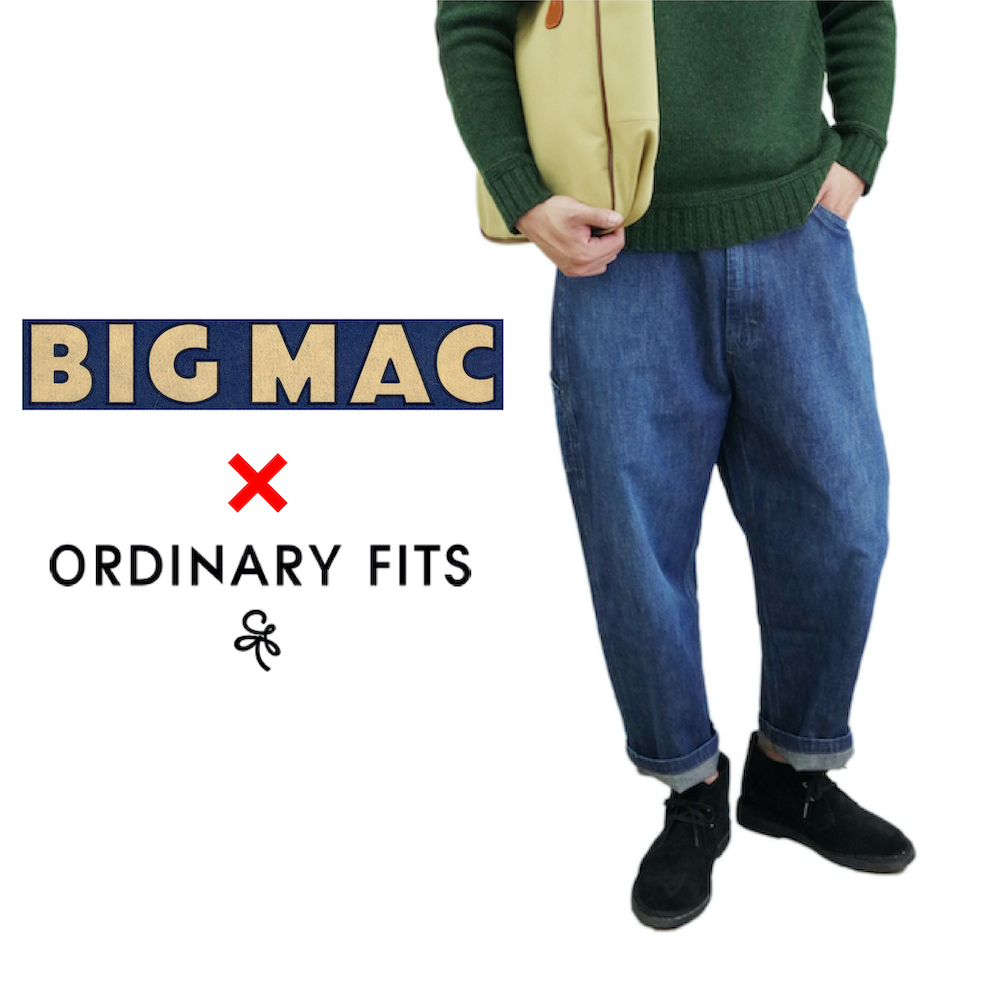 デニムペインターパンツ【BIG MAC made by ORDINARY FITS】