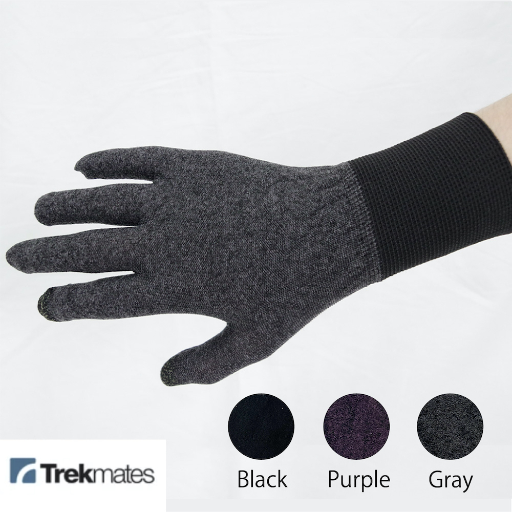 THERMAL TOUCH GLOVE 【TREKMATES】