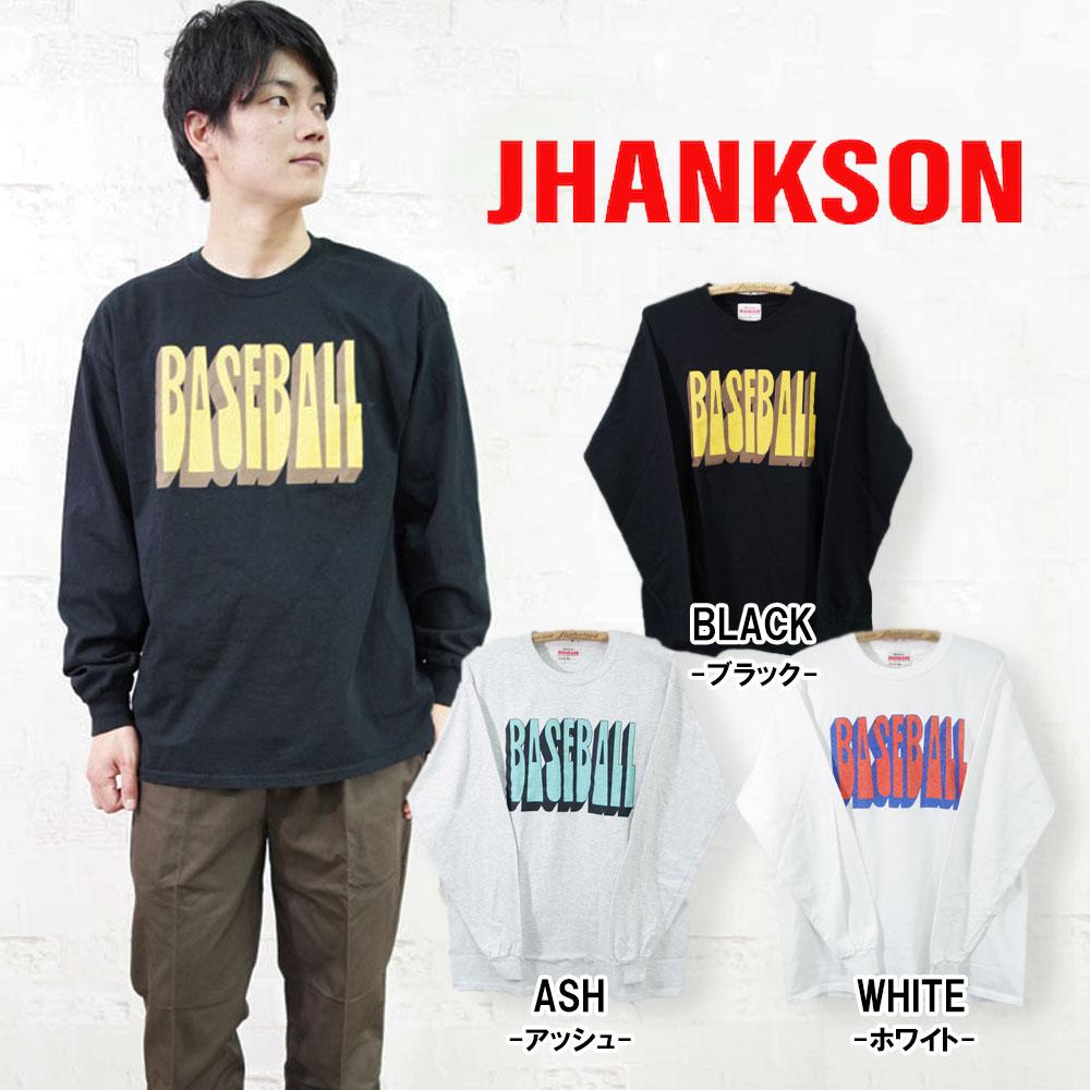 BASEBALL L/S Tee 【JHANKSON】