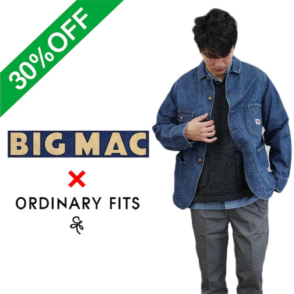 30%OFF デニムカバーオール【BIG MAC made by ORDINARY FITS】