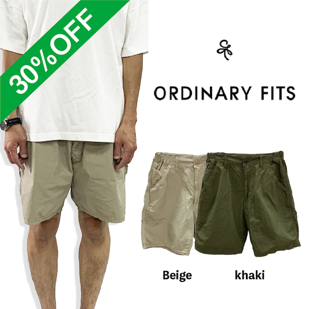 30%OFF RELAX PAINTER SHORTS 【ORDINARY FITS 】
