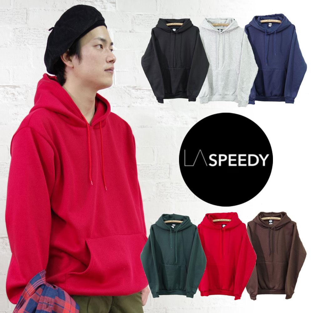 Classic Fleece Hooded Pullover 【LA SPEEDY】