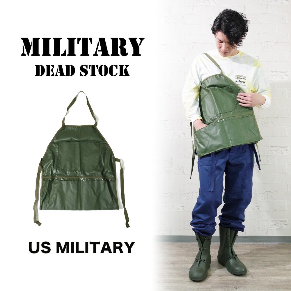 US GI WORK APRON 2007年DEADSTOCK【MILITARY DEADSTOCK】