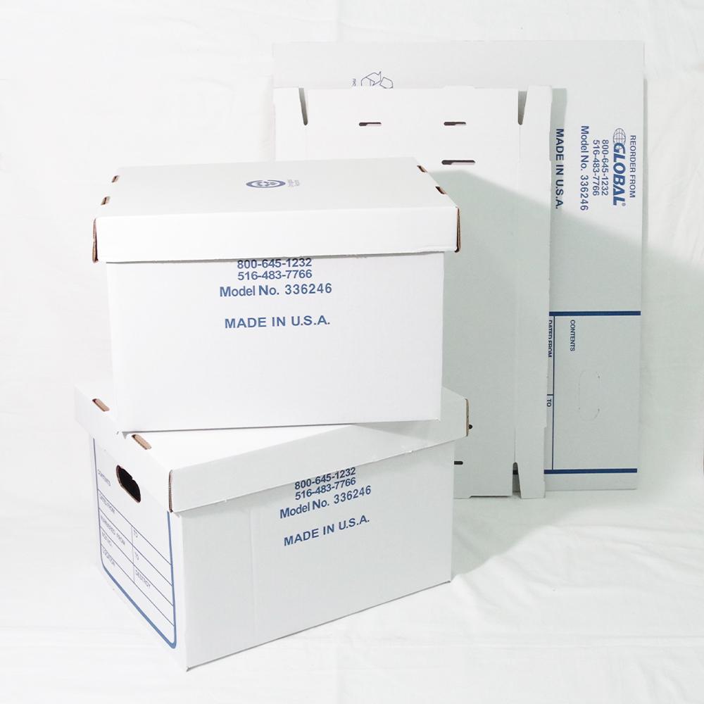 Global Industrial PAPER STORAGE BOX 3Pセット【MILITARY DEADSTOCK】