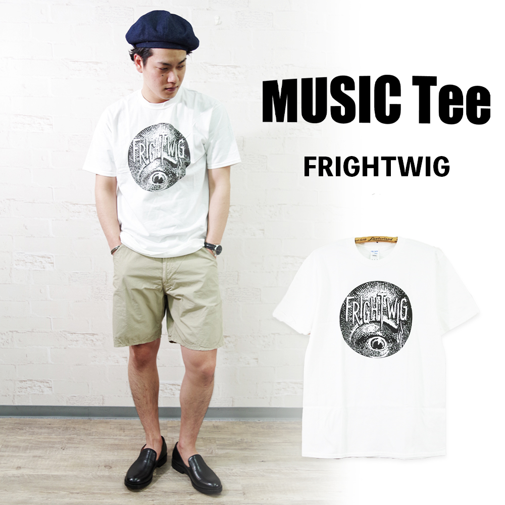 FRIGHTWIG (As Worn By Kurt Cobain, NIRVANA) 【MUSIC Tee】