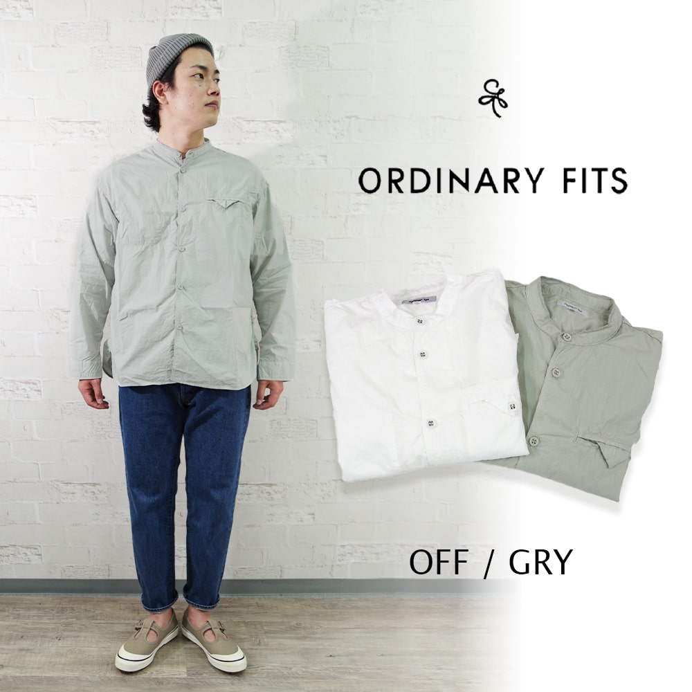 STAND WORKERS SHIRTS 【ORDINARY FITS 】