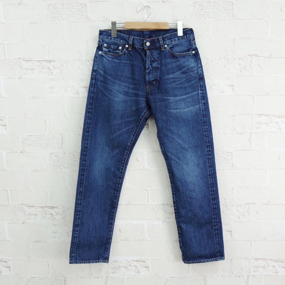 5PKT ANKLE DENIM USED WASH 1YEAR 【ORDINARY FITS】