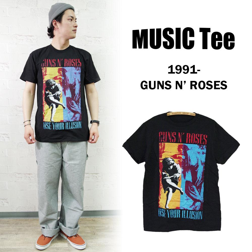 1991-GUNS N' ROSES 【MUSIC Tee】