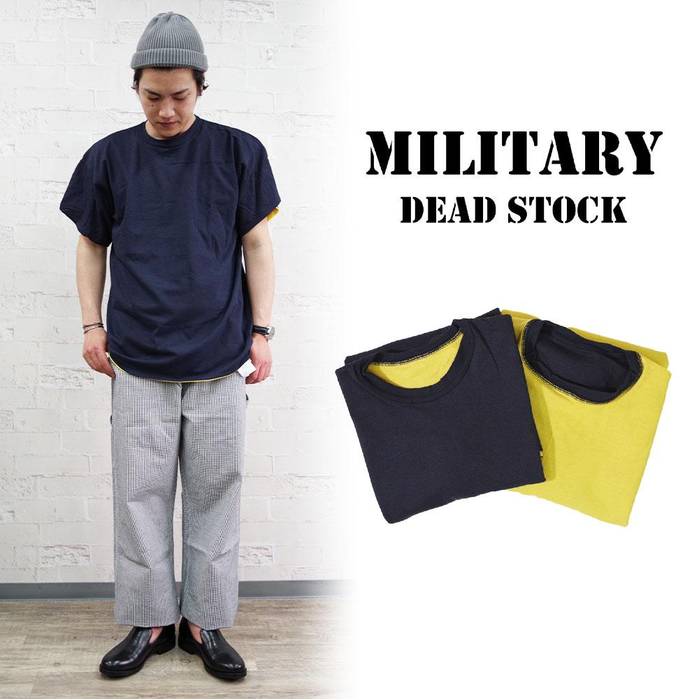 US NAVY DEADSTOCK リバーシブルTeeシャツ 【MILITARY DEADSTOCK】