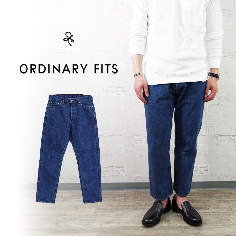 5PKT ANKLE DENIM USED WASH kodama 【ORDINARY FITS】