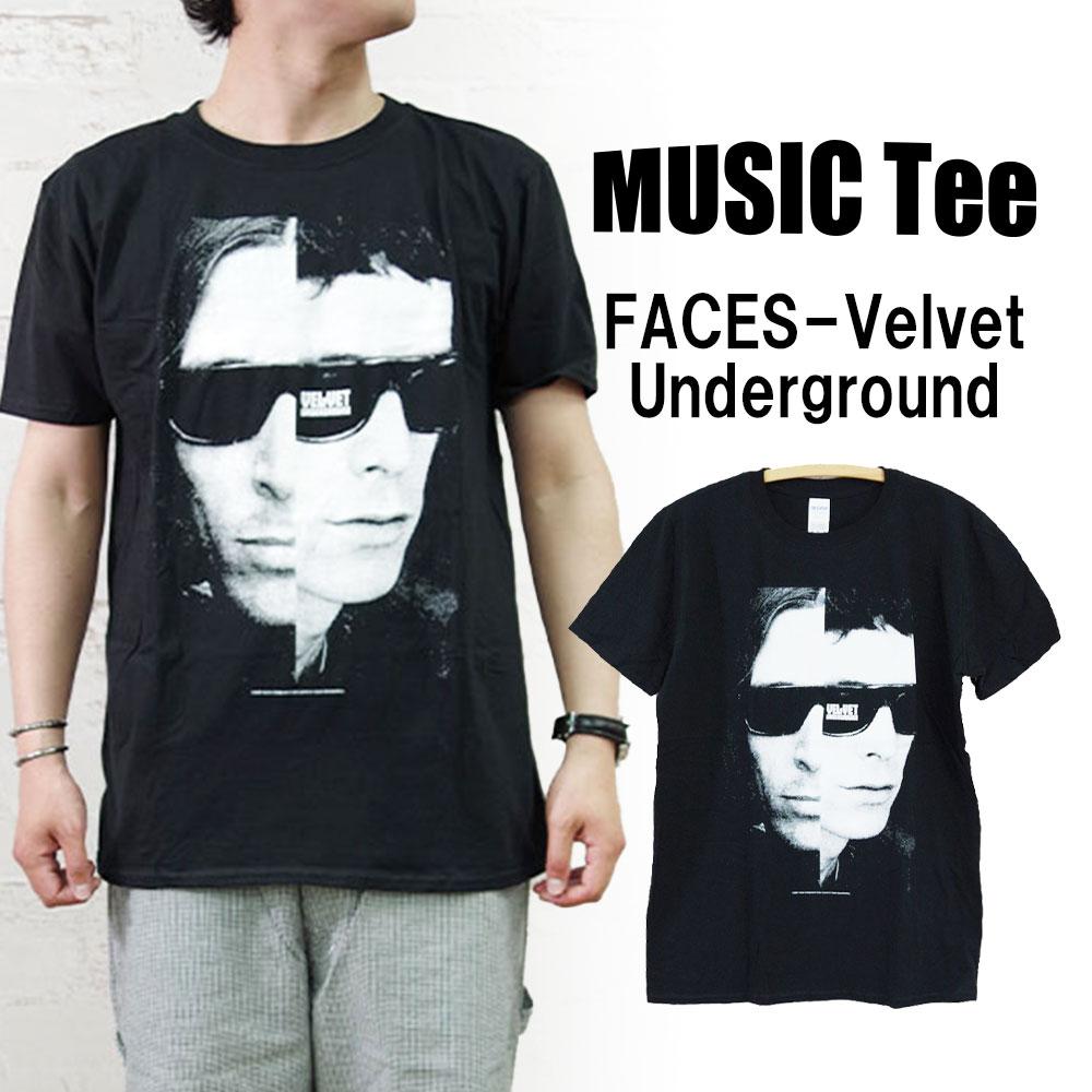 FACES-Velvet Underground 【MUSIC Tee】