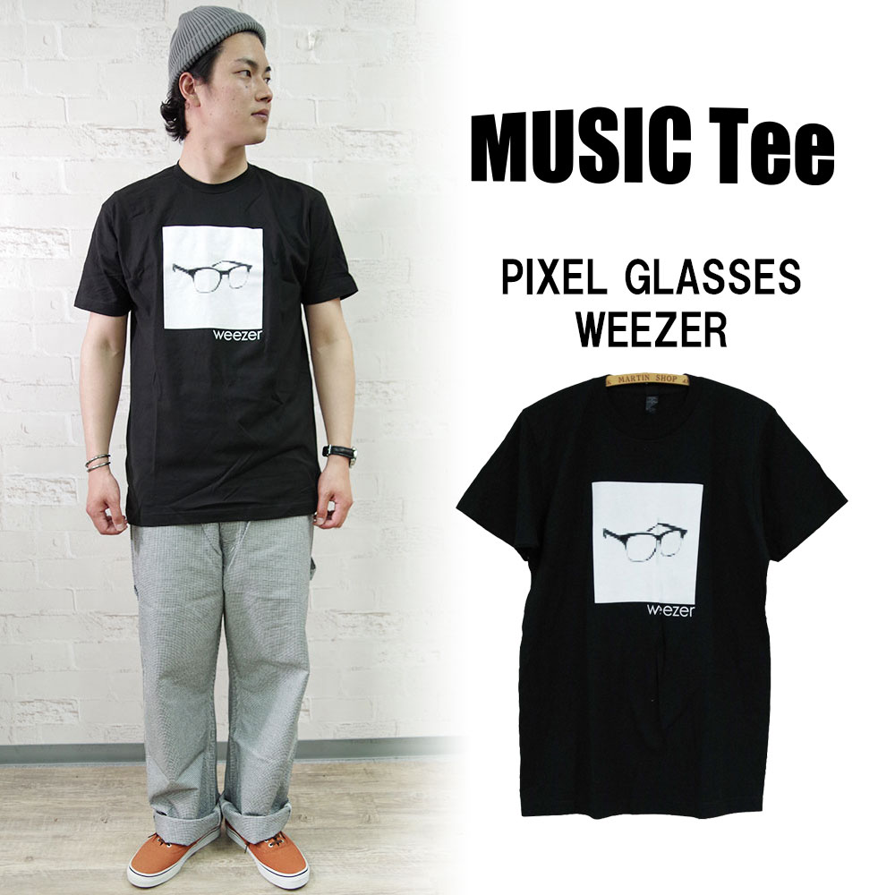 PIXEL GLASSES-WEEZER 【MUSIC Tee】
