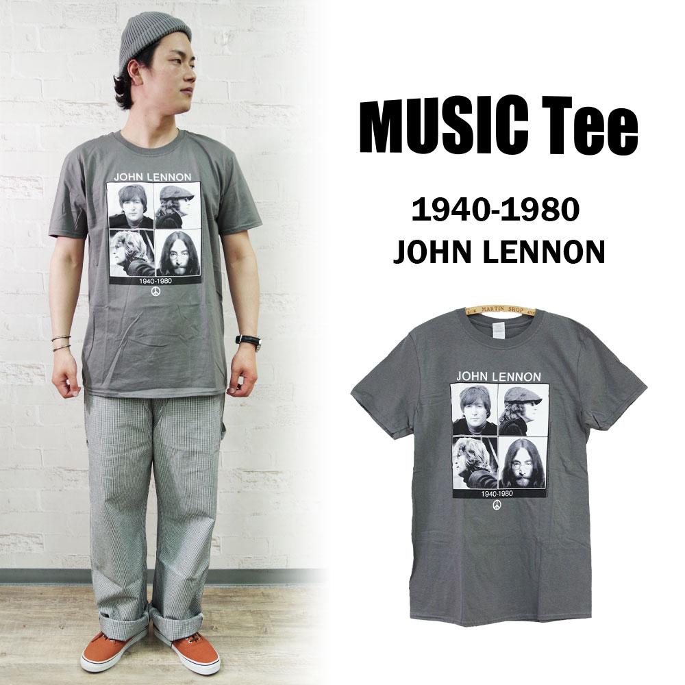 【MUSIC Tee(ミュージックティー)】1940-1980 JOHN LENNON ジョンレノン