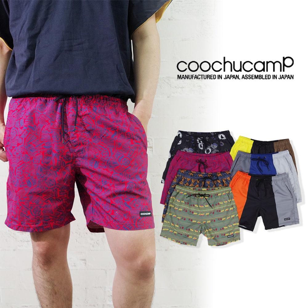 【COOCHUCAMP(クーチューキャンプ)】Happy Board Shorts ハッピーボードショーツ