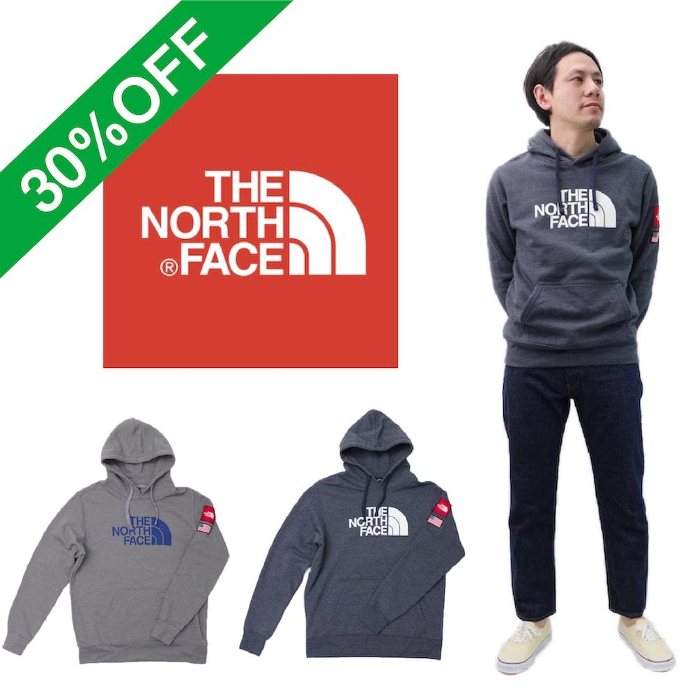 【NORTH FACE(ノースフェイス)】30%OFF SWEAT アメリカーナP/O Hoodie