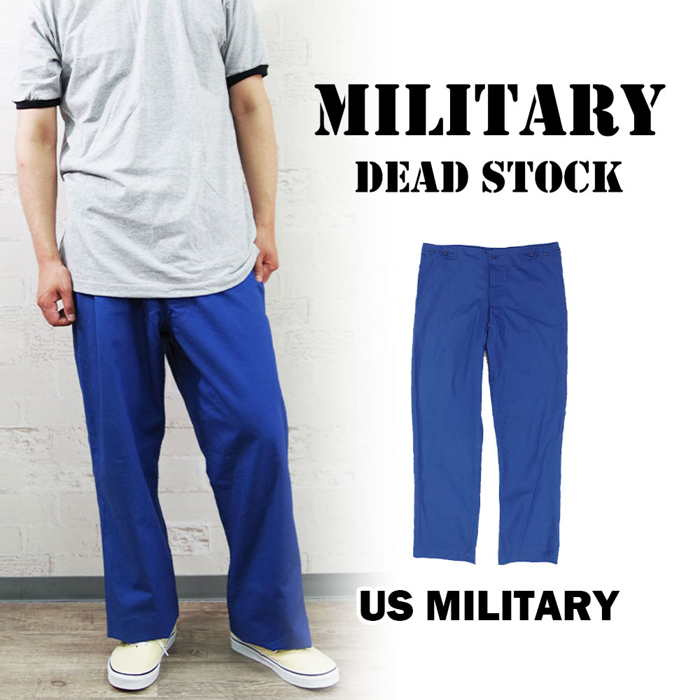 US ARMY 1968DEADSTOCK TYPE-1 HOSPITAL PANTS 【MILITARY DEADSTOCK】