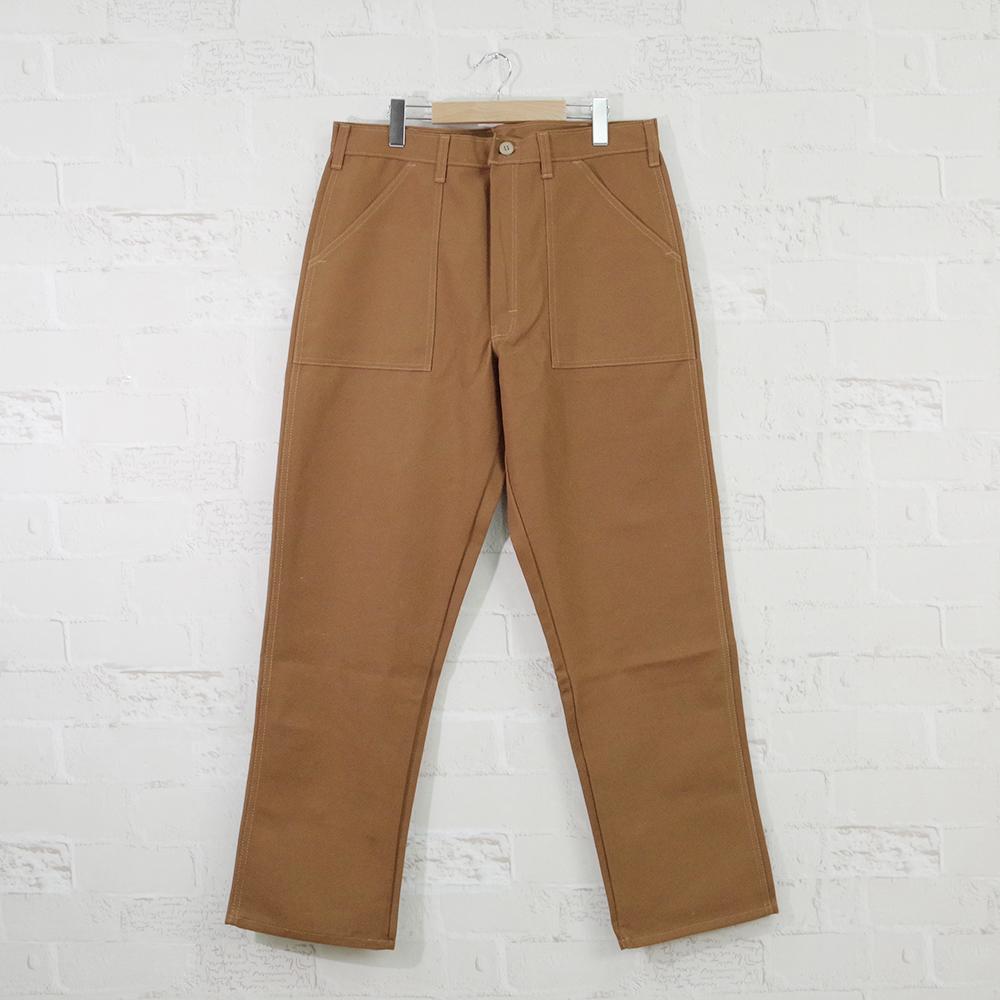 【GUNG HO(ガンホー】FATIGUE PANTS BROWN DUCKファティーグパンツブラウンダック(ベイカーパンツ)