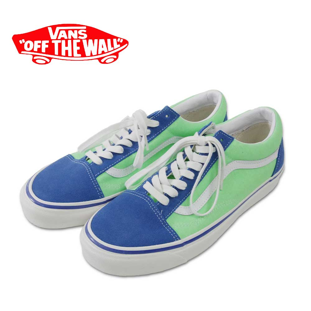 【VANS(バンズ)】Old Skool 36 DX ANAHEIM FACTORY Blue/Lime Green オールドスクール36 DXアナハイムファクトリー