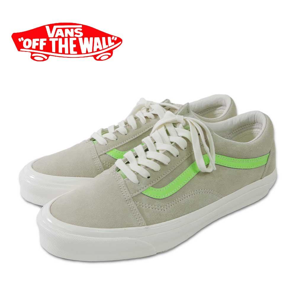 【VANS(バンズ)】Og OLD Skool LX Eucalyptus/Green Gecko オージーオールドスクールLXユーカリ/グリーン