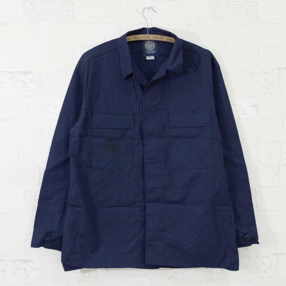 【MILITARY DEADSTOCK(ミリタリーデッドストック)】USCG ODU Shirt Deadstock ユーエスコーストガードODUシャツ デッドストック