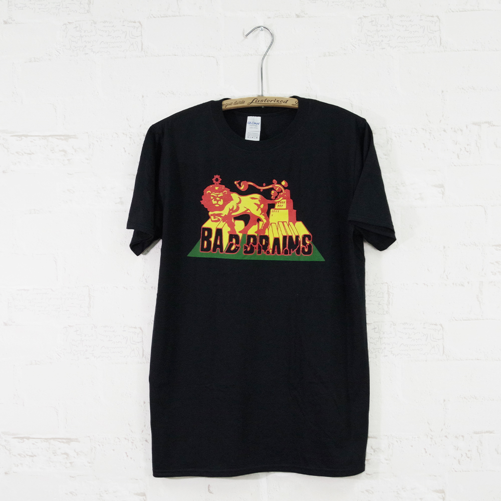 【MUSIC Tee(ミュージックティー)】RASTA LION-BAD BRAINS バッドブレインズ