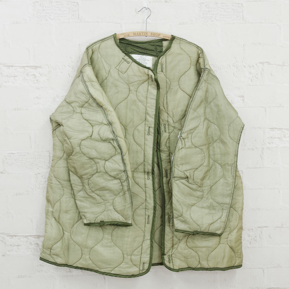 【MILITARY DEADSTOCK(ミリタリーデッドストック)】US ARMY M-65 FIELDPARKA LINER ユーエスアーミーM-65パーカライナーデッドストック